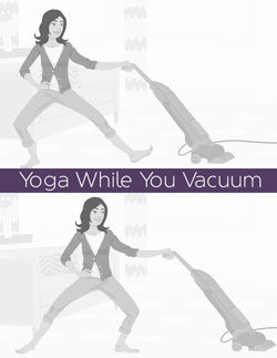 Yoga While You Do Housework