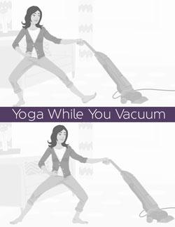 Yoga While You Do Housework