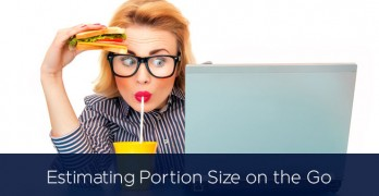 Estimating Portion Size on the Go