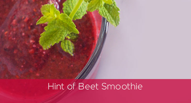 Recipe: Hint of Beet Smoothie