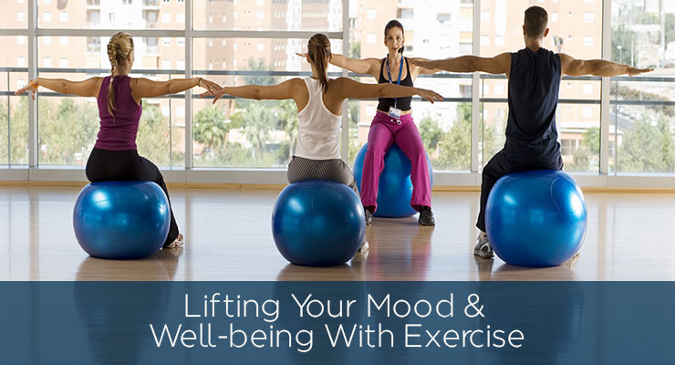 Lifting Your Mood and Well-being With Exercise